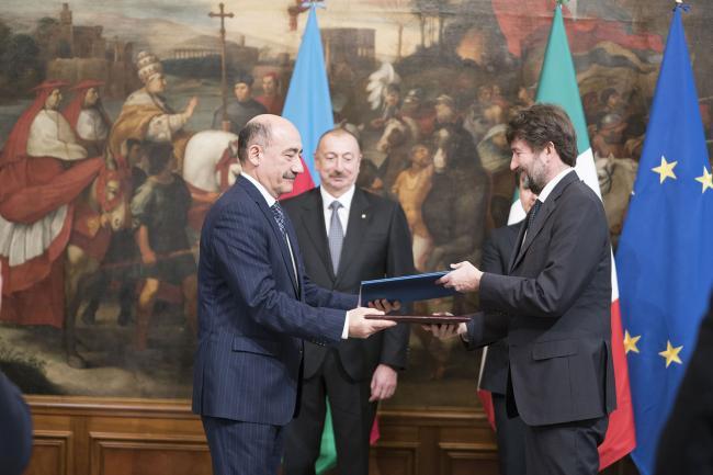 Scambio di intese tra il Governo della Repubblica Italiana e il Governo dell'Azerbaijan