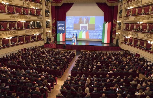 Il Presidente Conte all'Assemblea generale di Assolombarda