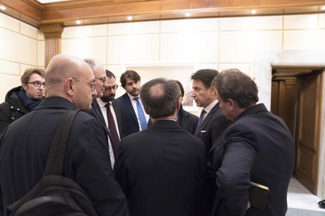 Incontro con ArcelorMittal, conferenza stampa del Presidente Conte