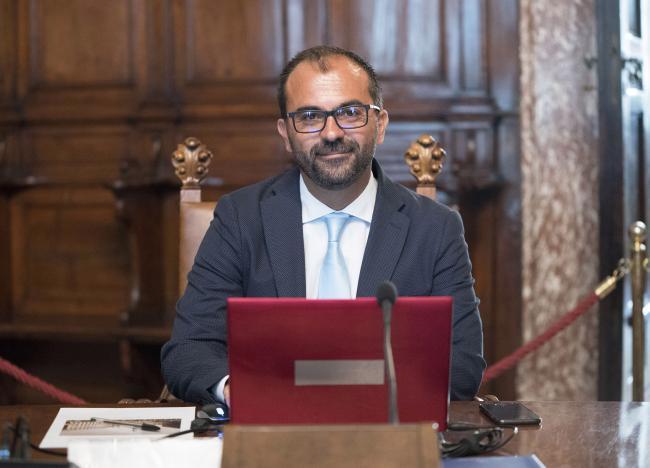 Il Ministro dell'Istruzione dell'Università e della Ricerca, Lorenzo Fioramonti