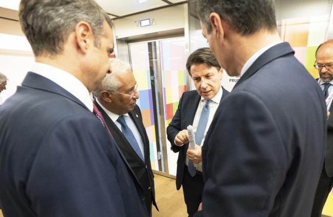 Terza giornata del Consiglio europeo straordinario