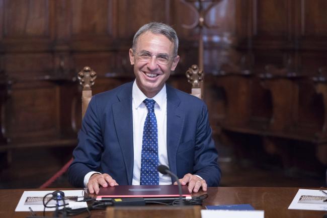 Il Ministro dell'Ambiente e della Tutela del Territorio e del Mare, Sergio Costa
