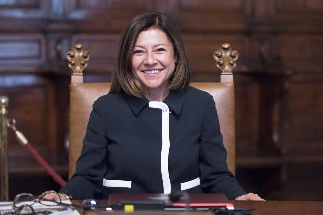 Il Ministro delle Infrastrutture e dei Trasporti, Paola De Micheli