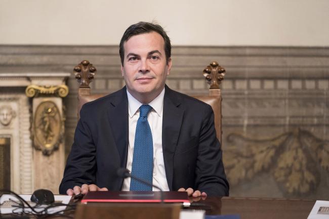 Il Ministro per gli Affari Europei, Vincenzo Amendola