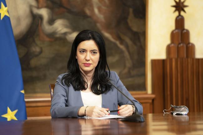 Scuola, conferenza stampa del Presidente Conte e del Ministro Azzolina