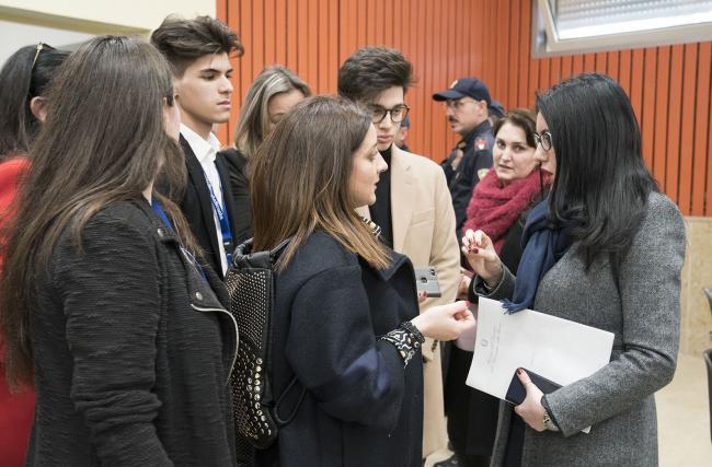 La Ministra Azzolina a Gioia Tauro alla presentazione del Piano per il sud