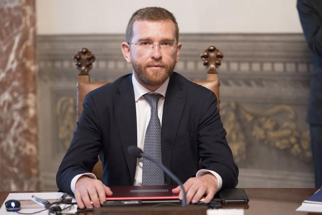 Il Ministro per il Sud e la Coesione territoriale, Giuseppe Luciano Calogero Provenzano