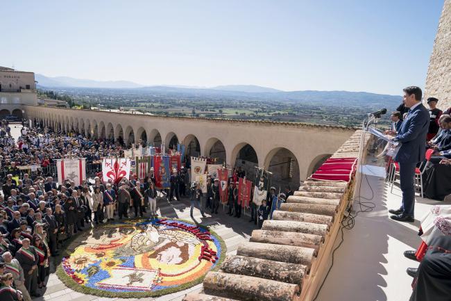 Conte ad Assisi
