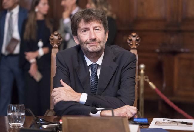 Il Ministro per i Beni e le Attività Culturali, Dario Franceschini