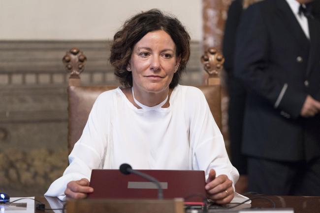 Il Ministro per l'Innovazione tecnologica e la Digitalizzazione, Paola Pisano