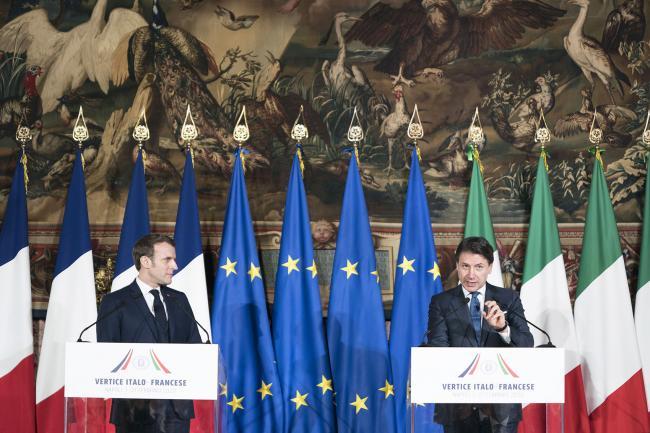 XXXV Vertice intergovernativo italo-francese, la conferenza stampa