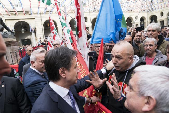 Conte a Torino
