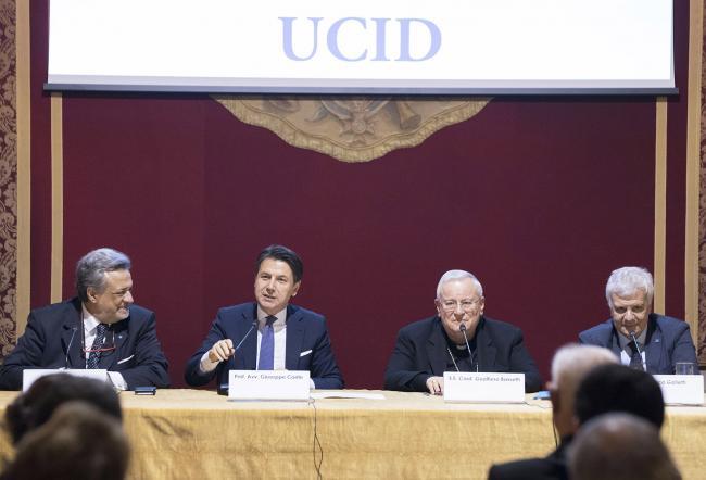 Conte al 73° anniversario della fondazione dell'Ucid