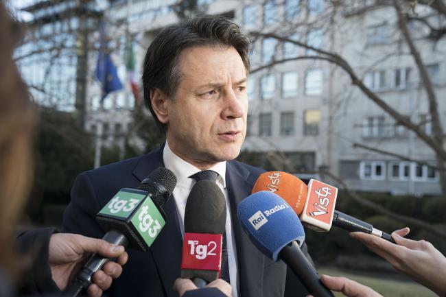 Il Presidente Conte a Sofia