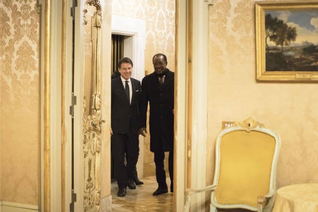 Conte incontra il Presidente della Repubblica del Ciad