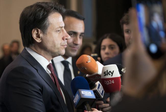 Conferenza di Berlino sulla Libia, punto stampa del Presidente Conte e del Ministro Di Maio