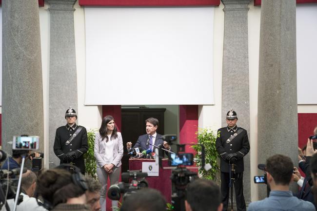 Punto stampa del Presidente Conte a Torino