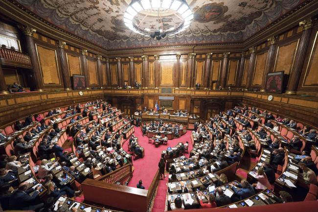 Conte al Senato per ladiscussione sulle dichiarazioni programmatiche