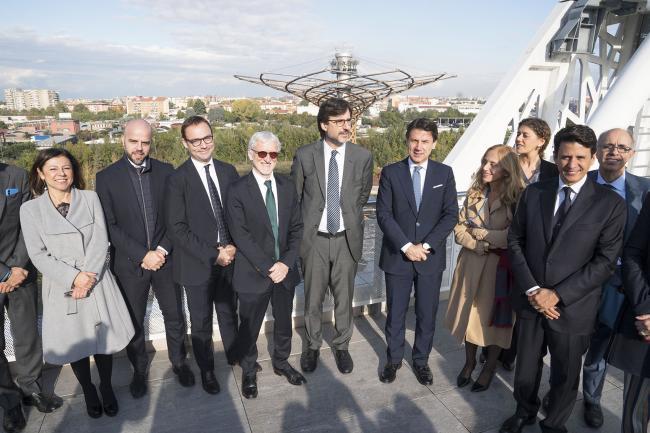 Il Presidente Conte a Milano