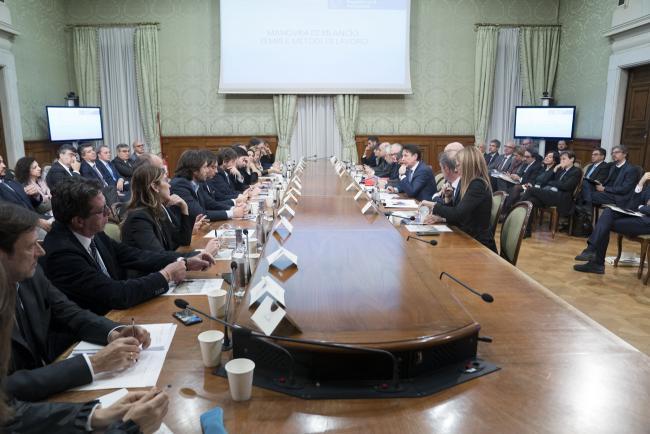 Manovra, riunione di maggioranza a Palazzo Chigi
