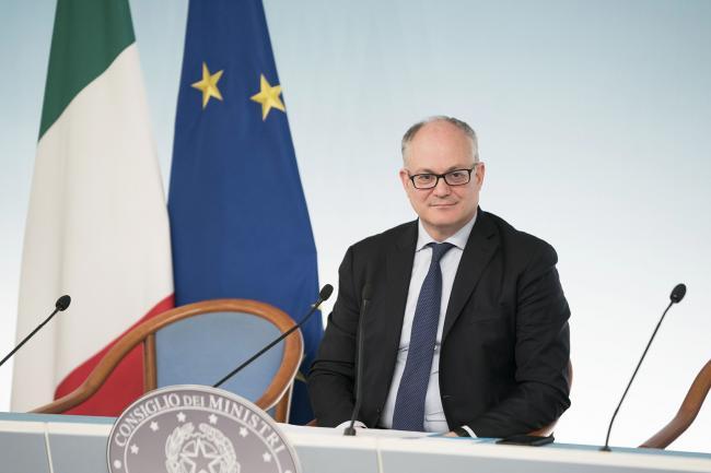 Consiglio dei Ministri n. 33, il Ministro Gualtieri in conferenza stampa