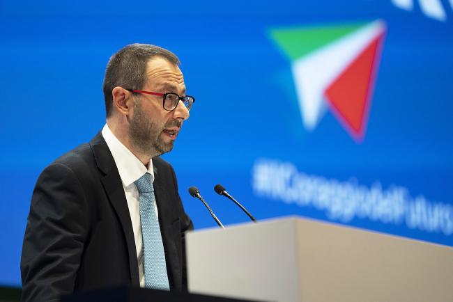 Il Ministro Patuanelli all'Assemblea di Confindustria
