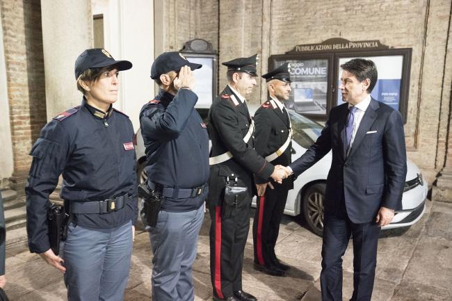 Il Presidente Conte in Prefettura ad Alessandria