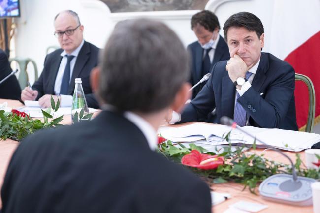 Progettiamo il rilancio, il Presidente Conte durante la seconda giornata dei lavori