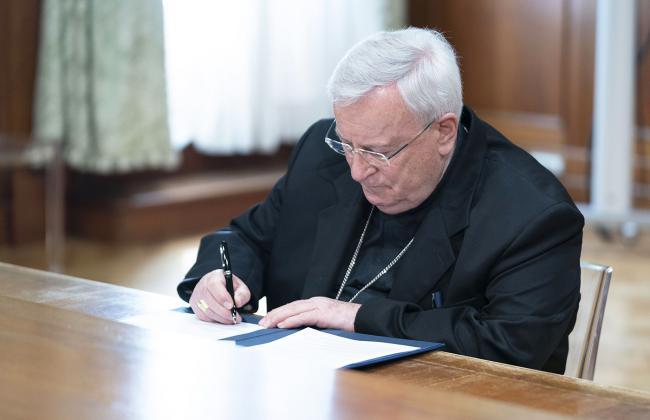 Celebrazioni liturgiche, firmato il Protocollo con la Cei