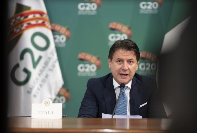 Vertice G20 di Riad - prima giornata