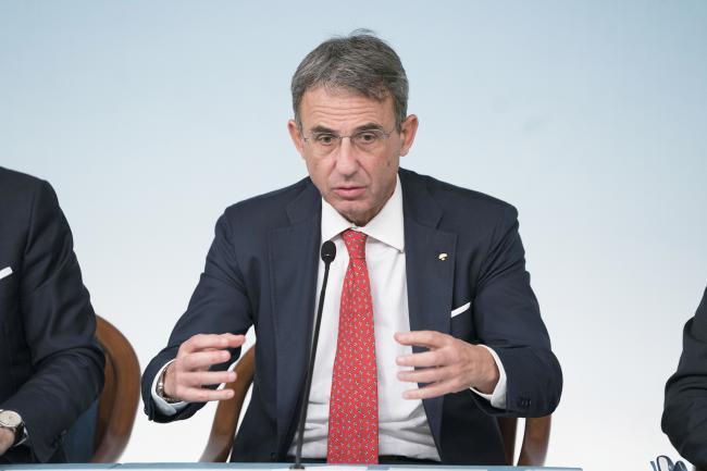 Maltempo, il Ministro Costa in conferenza stampa a Palazzo Chigi