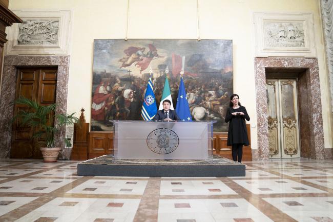 Emergenza coronavirus, le dichiarazioni del Presidente Conte