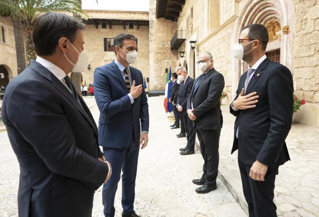 XIX Vertice intergovernativo italo-spagnolo, presentazione delle delegazioni ministeriali