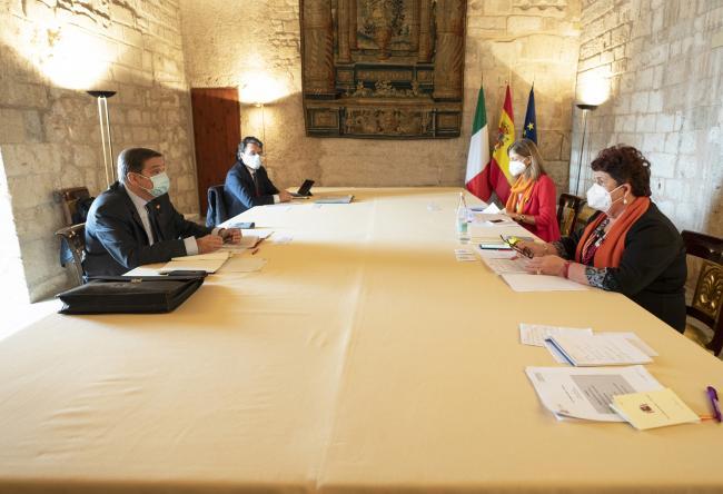 XIX Vertice intergovernativo italo-spagnolo, incontro bilaterale ministeriale