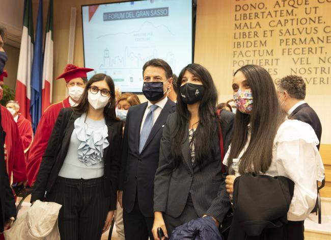 Il Presidente Conte al III Forum Internazionale del Gran Sasso