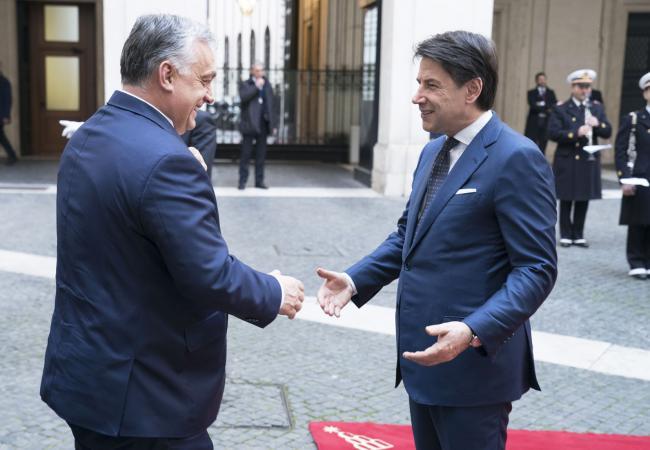 Incontro Conte - Orban