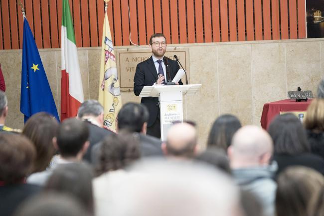 Il Ministro Provenzano a Gioia Tauro alla presentazione del Piano per il sud