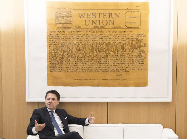 Conte ai lavori del Consiglio Europeo