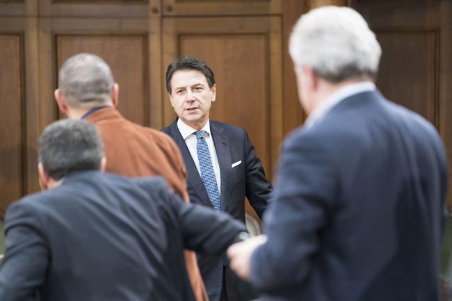 Investimenti pubblici e Sud, tavolo con i sindacati a Palazzo Chigi