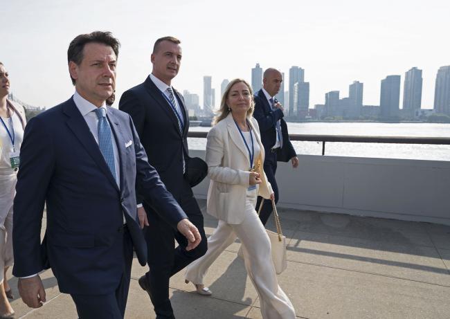 Conte a New York per la 74ª Sessione dell'Assemblea Generale delle Nazioni Unite