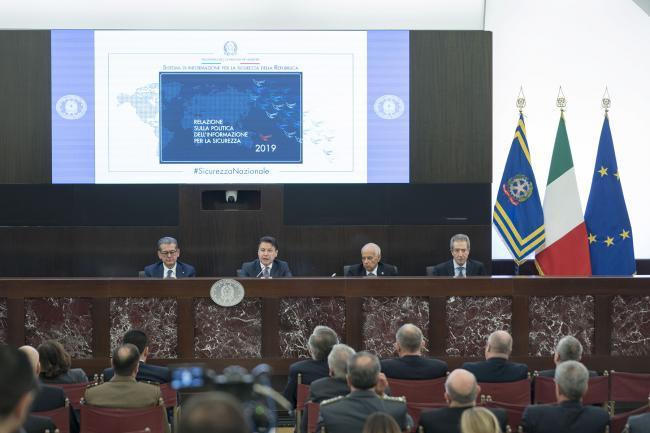 Conte alla Relazione sulla politica dell'informazione per la sicurezza 2019