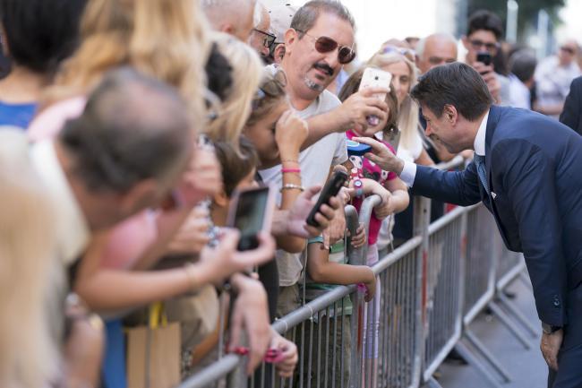 """Il Presidente Conte a Lecce per le """"Giornate del Lavoro 2019"""""""