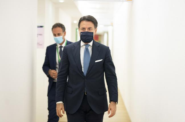 Conte partecipa alla prima giornata del Consiglio europeo