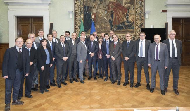 Conte con i Presidenti delle Regioni