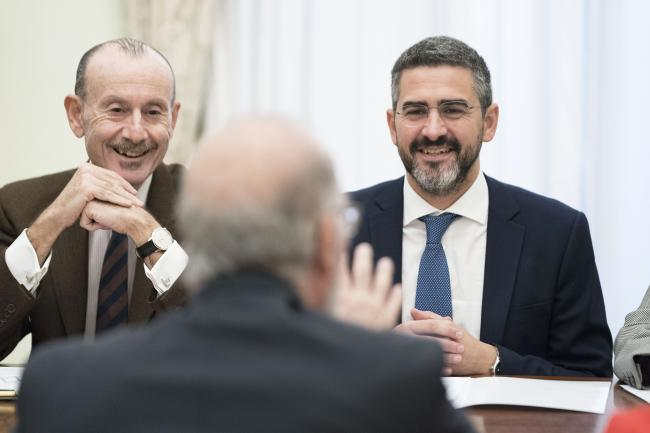 Fraccaro incontra Ben Israel