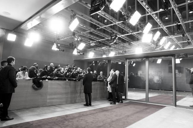 Punto stampa del Presidente Conte a Bruxelles