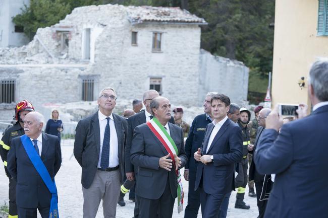 Conte a Castelsantangelo sul Nera