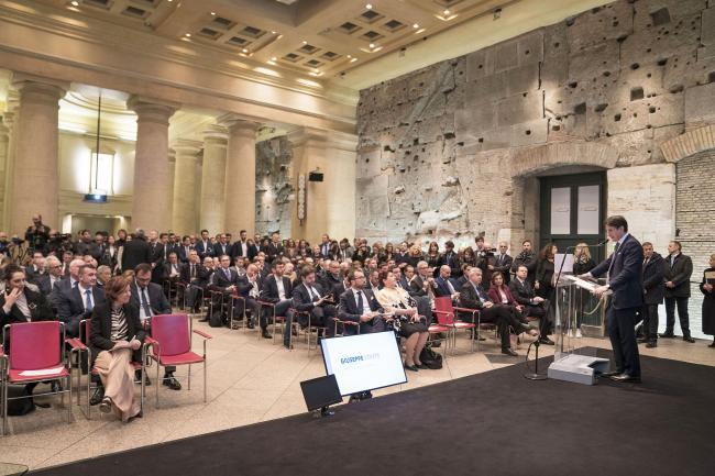 Conte alla presentazione del Piano Nazionale Innovazione