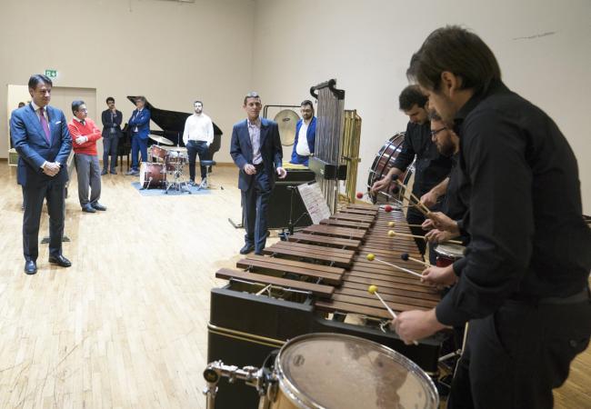 """Visita al Conservatorio statale di musica """"Domenico Cimarosa"""""""