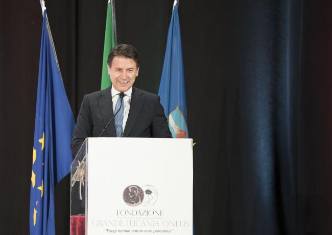 """Il Presidente Conte al convegno """"Manifesto per il Mezzogiorno"""""""